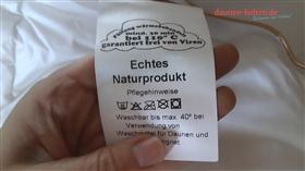 Daunendecke Bettdecke Waschen Trocknen Anleitung V Profi