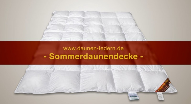Sommerbettdecke Made in Germany