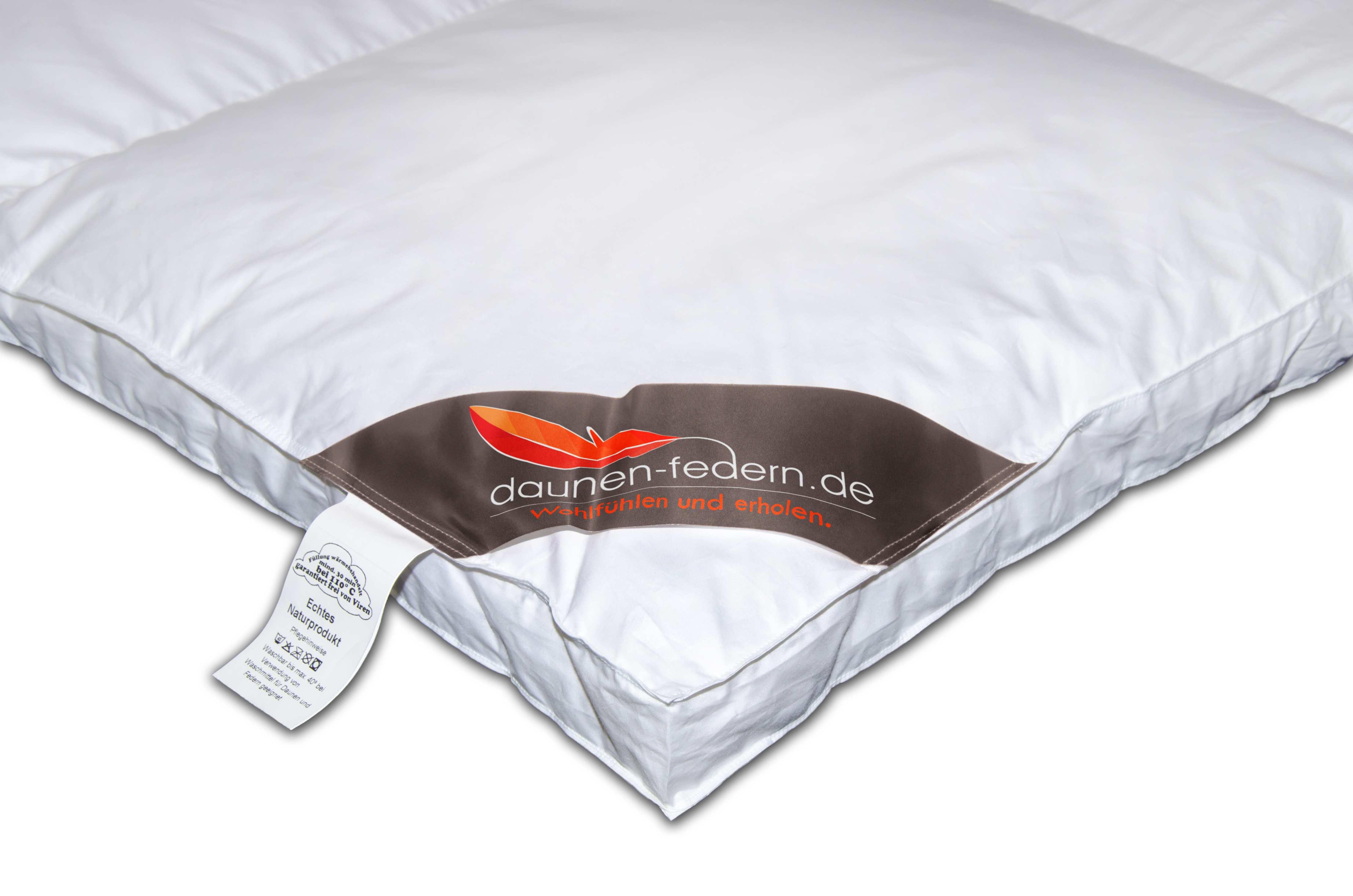 winter daunendecke mit 5 cm innensteg und au ensteg g nstig bestellen. Black Bedroom Furniture Sets. Home Design Ideas
