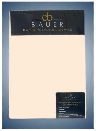 Curt Bauer Jersey Spannbetttuch in creme