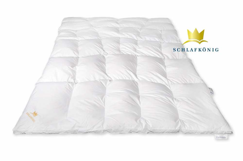 bettdecke 155x220 marke schlafk nig 100 daunen. Black Bedroom Furniture Sets. Home Design Ideas