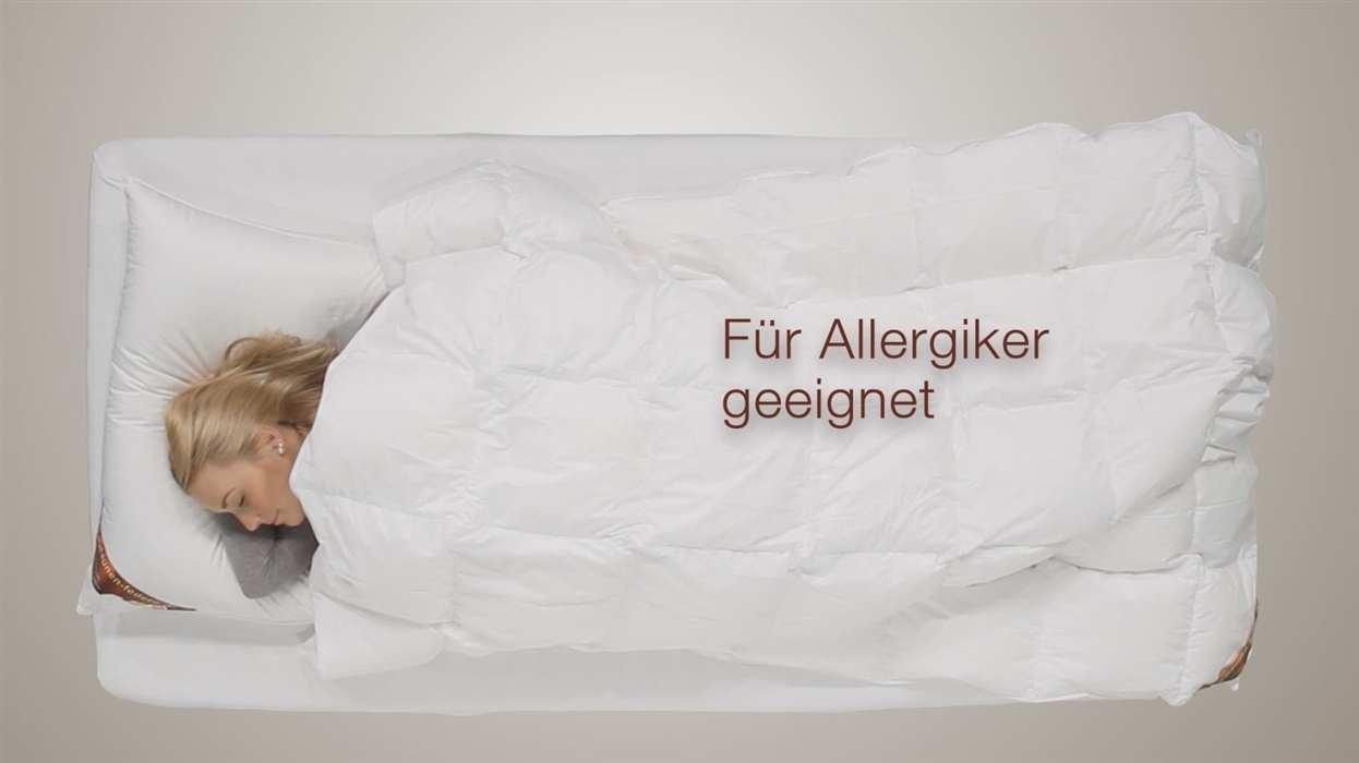 winter daunendecke 135x200 100 daunen g nstig bestellen. Black Bedroom Furniture Sets. Home Design Ideas